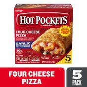 Hot Pockets Four Cheese Pizza Garlic Buttery Crust Frozen Snacks