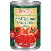 Vine Ripe Original Diced Tomatoes & Green Chilies