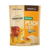WOODSTOCK Organic Peach Slices