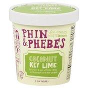 Phin & Phebes Ice Cream, Coconut Key Lime