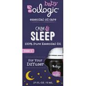 Oilogic Essential Oil Care, Calm & Sleep, Baby