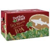 Dogfish Head Beer, Imperial IPA, 90 Minute, 24 Bottles