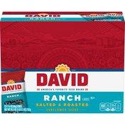DAVID Seeds Ranch Flavored Sunflower Seeds