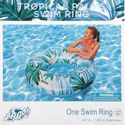 H2o Go! Swim Ring, Tropical Palms, 47 Inches
