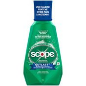 Scope Outlast Scope Outlast Long Lasting Mint Mouthwash, 1 L Oral Rinse