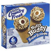 Dean's Country Fresh Ice Cream Cones, Super Scoops, Nutty Buddy, Variety Pack