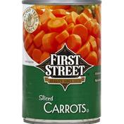 First Street Carrots, Sliced