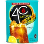 4C Foods Ice Tea Mix Lemon Flavor
