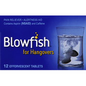 Blowfish For Hangovers, Effervescent Tablets