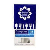 Signature Home EVERYDAY assorted heavy duty flatware