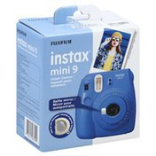 Fujifilm Instant Camera, Mini 9, Cobalt Blue