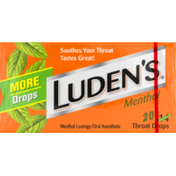 Luden's Throat Drops Menthol