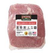 Coleman Natural Boneless Pork Loin Roast