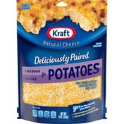 Kraft Natural Cheese Shredded Cheddar and Gouda for Potatoes & Casseroles