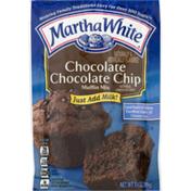 Martha White Muffin Mix, Chocolate Chocolate Chip, Pouch