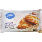 Kineret Puff Pastry, Dough Squares