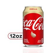Coca-Cola Vanilla Soda Soft Drinks
