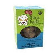 Nana Keek's Gourmet Ready To Bake Cookies, Organic Peanut Butter