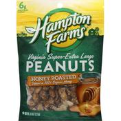 Hampton Farms Peanuts, Honey Roasted