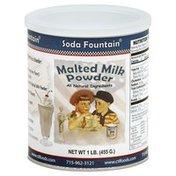 Soda Fountain Malted Milk Powder