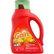 Gain Liquid Laundry Detergent, Apple Mango Tango