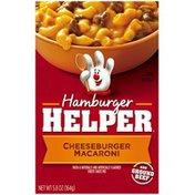 Betty Crocker Cheeseburger Macaroni Hamburger Helper