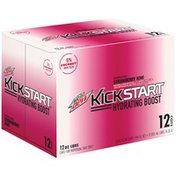 Mountain Dew Kickstart Hydrating Boost Strawberry Kiwi Juice Drink