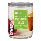 Southeastern Grocers Milk Evaporated Fat Free