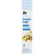 Food Lion Double Zipper Gallon Freezer Bags