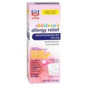 Rite Aid Children's Allergy Relief Dye-Free Bubble Gum 4oz