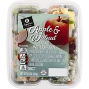Signature Cafe Salad with Chicken, Apple & Walnut