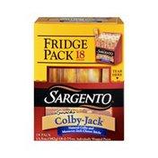Sargento Snacks Colby-Jack Cheese Sticks Fridge Pack - 18 CT