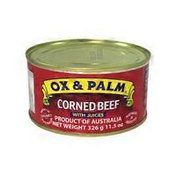 Ox & Palm Regular Corned Beef With Juices
