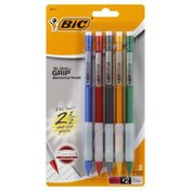 BiC Mechanical Pencils, Thick (0.9 mm), No. 2