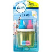 Febreze Plug First Bloom Champagne Blossoms Scented Oil Refill Air Refresher