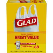 Glad Tall Kitchen Bags Handle-Tie