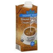 Mimic Creme Cream Alternative, Hazelnut Biscotti