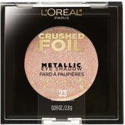 L'Oreal Crushed Foils Metallic 23 Diamond Dust Eye Shadow