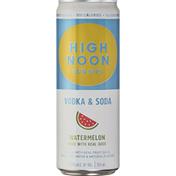 High Noon Watermelon Vodka Hard Seltzer