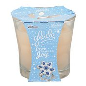 Glade Candle Winter Collection Pure Vanilla Joy