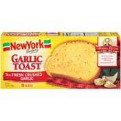 New York Bakery Mamma Bella's Recipe Garlic Toast
