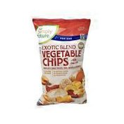 Simply Nature EXOTIC BLEND VEGETABLE CHIPS With Sea Salt