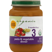 Wild Harvest Pasta & Vegetable Dinner, 3 (9 Months & Up)