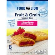 Food Lion Cereal Bars, Strawberry, Fruit & Grain
