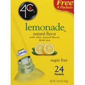 4C Foods Drink Mix, Sugar Free, Lemonade