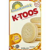Kinnikinnick Vanilla cream cookie