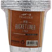 Traeger Bucket Liner, Mini, 5 Pack