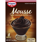 Dr. Oetker Mousse Instant Mousse Mix Dark Chocolate Truffle