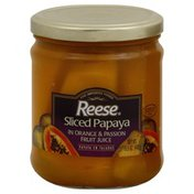 Reese's Papaya, Sliced
