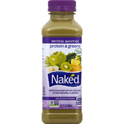 Naked Protein & Greens Juice Smoothie, No Sugar Added